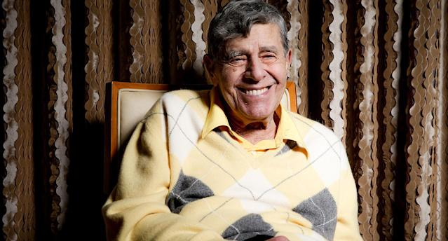 Jerry Lewis in 2016. (Photo: Rich Fury/Invision/AP)