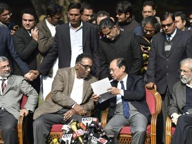 Four senior SC judges take on CJI at press conference, allege crucial cases being allotted 'selectively'