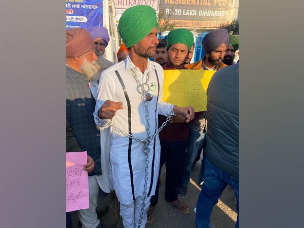 Kabil Singh has been at the protest site for the past 12 days. [Photo/ANI]