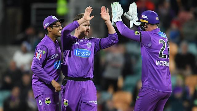 There was no big knock from D'Arcy Short for Hobart Hurricanes, but he more than made up for it with the ball, obliterating Sydney Thunder.