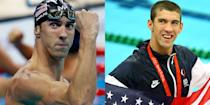 <p>Michael Phelps is known for either looking super intense and serious or extremely overjoyed and elated—the latter usually happens after he wins a gold medal. </p>