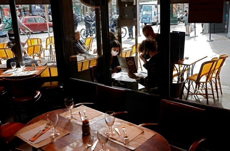 Paris has already shut bars and cafes for two weeks.