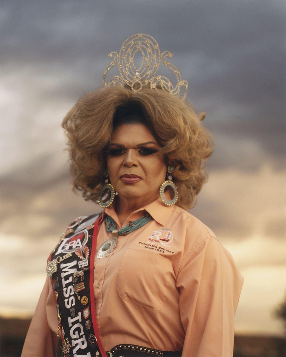 """<p>Miss IGRA and the drag royalty of the gay rodeo highlight the necessary outreach and programs provided by the IGRA within the community. """"It's not just a [drag] pageant, [it's] getting out there, getting people involved, helping with sex education, teaching people about PrEP and condoms,"""" Gilford says. """"AIDS is still a really big issue in a lot of these communities. It's layered. The drag queens are entertainers, but they're also out there representing the community.""""</p>"""