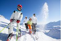 <p>Nothing feels as good as the wind whistling through your hair as you slalom down the slopes in sparkling winter sunshine. It's good exercise, too. If you don't have enough elevation where you live, try cross-country skiing instead. </p>