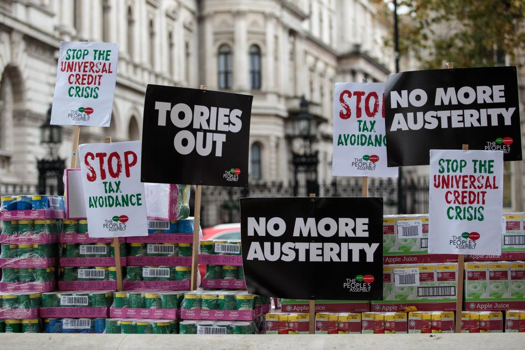 "<p><span>The Government's Universal Credit system is replacing a number of payments including jobseeker's allowance and housing benefit and was supposedly designed to make claiming benefits simpler, but the new system has left claimants confused and lacking in support. The rollout has been hit by problems, with claimants being forced to wait weeks for payment and </span><a rel=""nofollow"" href=""https://uk.news.yahoo.com/mother-disabled-son-universal-credit-unable-afford-toilet-paper-used-napkins-mcdonalds-144451296.html""><span>suffering hardships</span></a><span> as a result. Theresa May has conceded that </span><a rel=""nofollow"" href=""https://uk.news.yahoo.com/1-5-people-arent-happy-universal-credit-system-121727351.html""><span>1 in 5 people are not happy</span></a><span> with the new system. </span>(Getty) </p>"