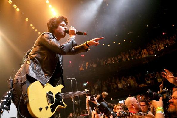 Billie Joe Armstrong performs in concert with Green Day at ACL Live during the South By Southwest Music Festival on March 15, 2013 in Austin, Texas.  (Photo by Gary Miller/FilmMagic)