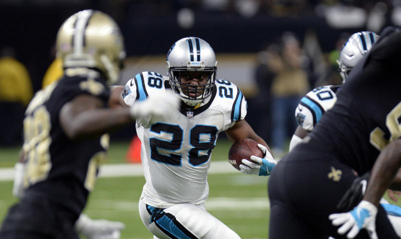Carolina Panthers release running back Jonathan Stewart