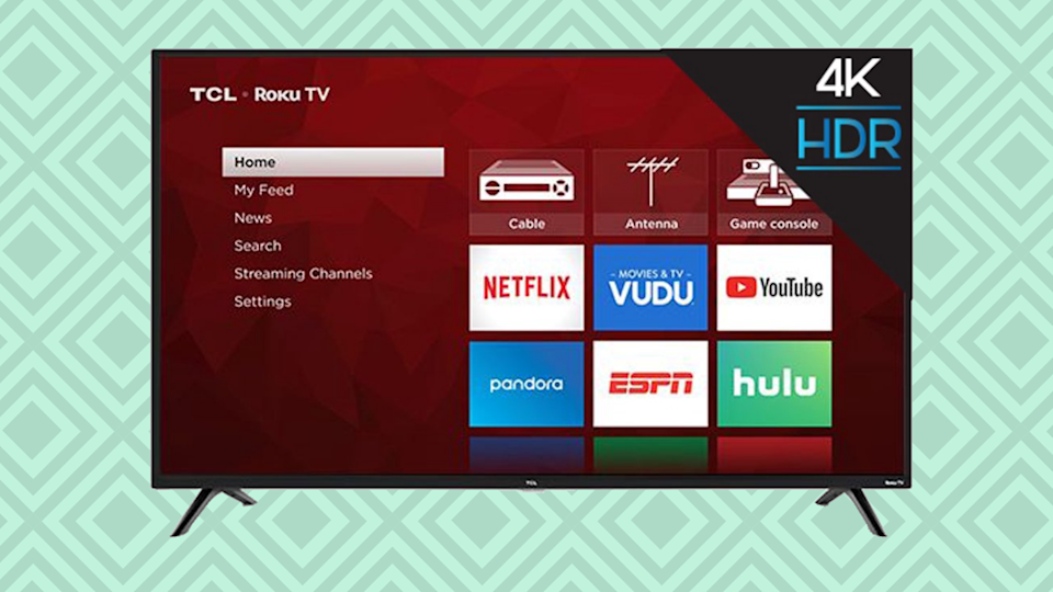 Save $220 on this TCL 55-inch Class 4K UHD LED Roku Smart TV. (Photo: Walmart)