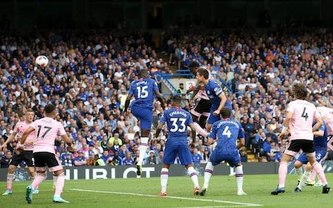 Wilfred Ndidi of Leicester City scores to make it 1-1 - Credit: Plumb Images/Leicester City FC via Getty Images