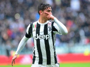Paulo Dybala struck twice to send Juventus to the top of Serie A with a 2-0 victory over Udinese on Sunday, as title rivals Napoli were held to a goalless draw at Inter Milan.