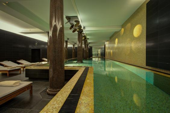 After pounding pavements, relax in the extensive spa at Hotel de Rome (Hotel de Rome)
