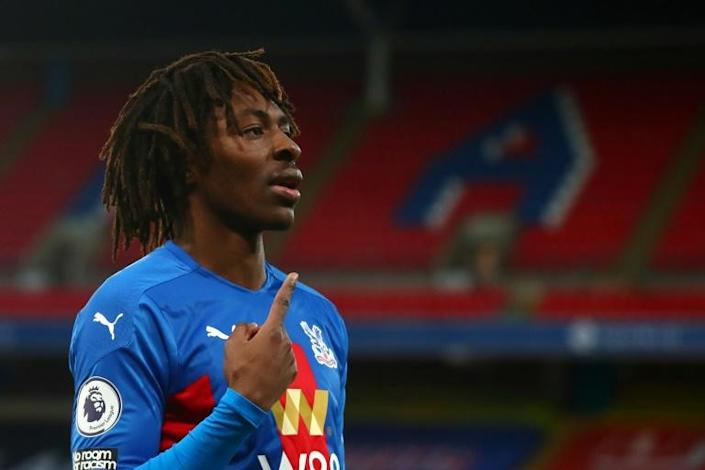 One to watch: Eberechi Eze scored a stunning solo goal in Crystal Palace's 2-0 win over Sheffield United