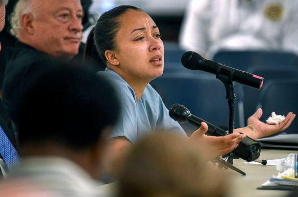 PHOTO: Cyntoia Brown appears in court during her clemency hearing at the Tennessee Prison for Women in Nashville, Tenn., May 23, 2018. (The Tennessean via Lacy Atkins/AP, Pool)