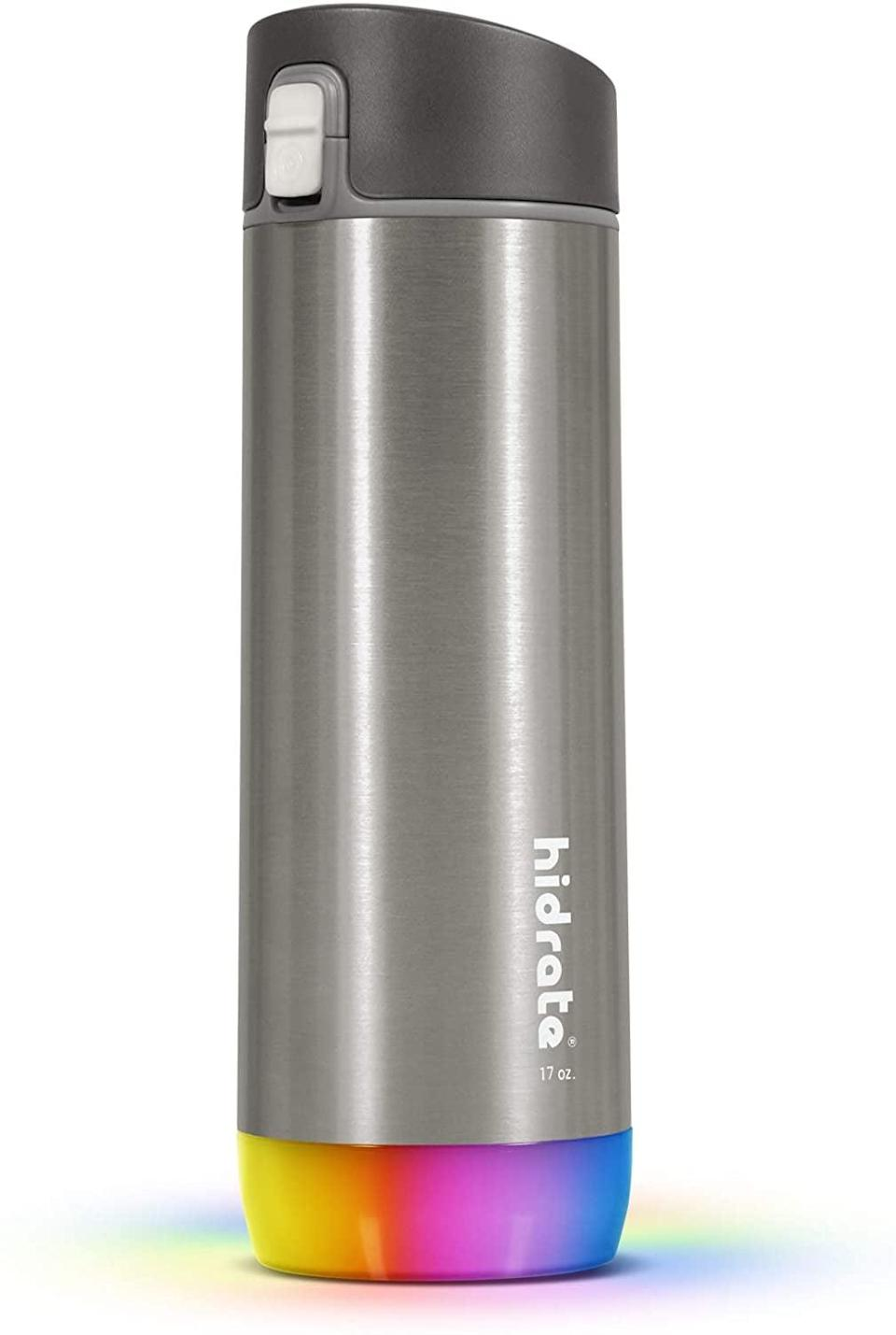 <p>How clever and convenient is this <span>Hidrate Spark Smart Water Bottle</span> ($52)?</p>