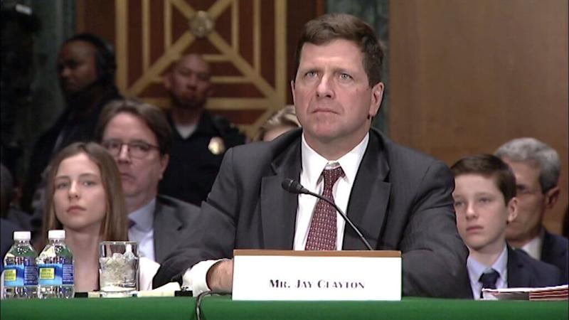 SEC chair Jay Clayton states 'progress has been made' for a Bitcoin ETF