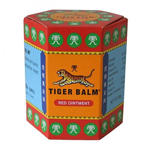 tiger balm red ointment container