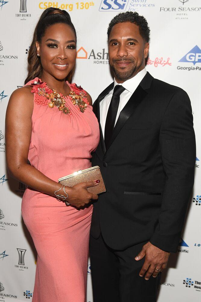 Kenya Moore and Marc Daly | Paras Griffin/Getty Images