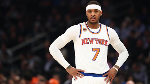 Carmelo Anthony will be in a Thunder uniform next season. Will OKC be a title contender?