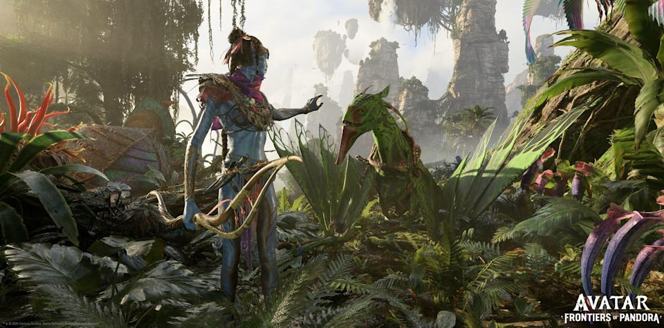 The Ubisoft game 'Avatar: Frontiers of Pandora' is a 2022 gamedeveloped by studio Massive Entertainment