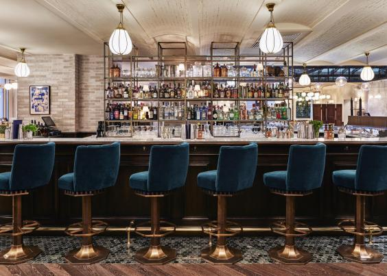 Jacques Bar is ideal for an early evening cocktail (Hoxton Paris)