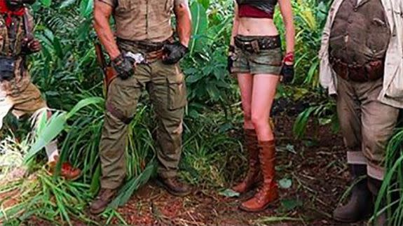 First photo emerges from Jumanji reboot