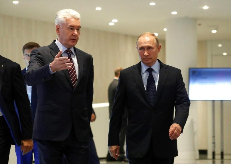 Moscow's mayor Sergei Sobyanin is a loyalist of President Vladimir and all but guaranteed to win re-election to his office