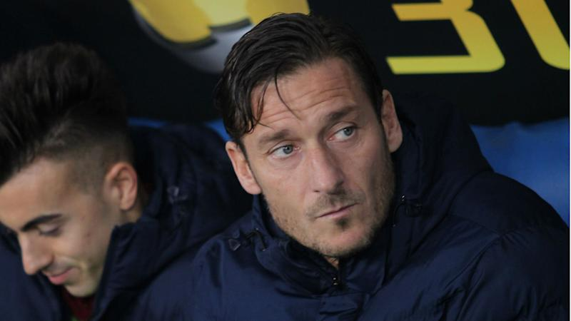 Totti could play on with Roma but will never coach