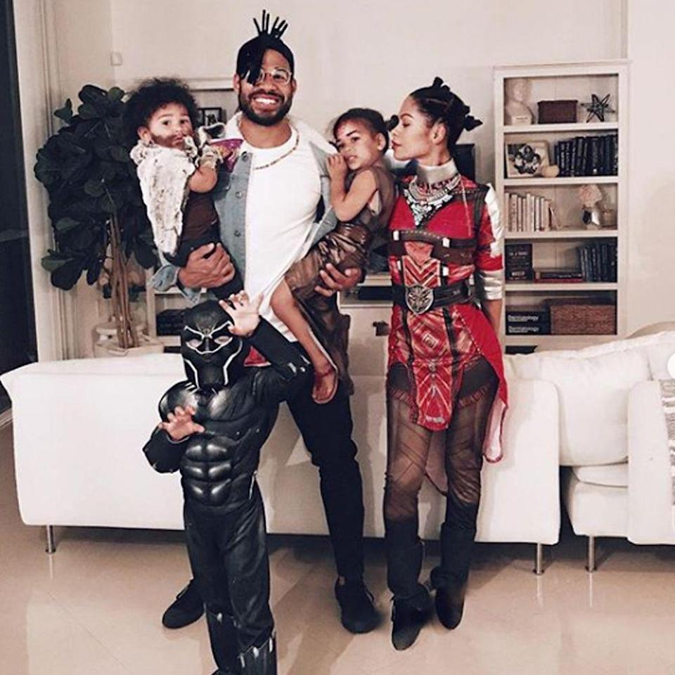 """<p>You'll be the most adorable family on the street dressed as the characters in <em>Black Panther</em>. Wakanda forever!</p><p><a class=""""link rapid-noclick-resp"""" href=""""https://www.amazon.com/s?k=black+panther+costume+for+kids&crid=3IBZ89JIZHRCU&sprefix=Black+Panther+cost%2Caps%2C183&ref=nb_sb_ss_i_1_18&tag=syn-yahoo-20&ascsubtag=%5Bartid%7C2089.g.22530616%5Bsrc%7Cyahoo-us"""" rel=""""nofollow noopener"""" target=""""_blank"""" data-ylk=""""slk:SHOP THE LOOKS"""">SHOP THE LOOKS</a></p><p><strong>Instagram:</strong> <a href=""""https://www.instagram.com/p/BpnyMzUlPkg/"""" rel=""""nofollow noopener"""" target=""""_blank"""" data-ylk=""""slk:@lauralacquer"""" class=""""link rapid-noclick-resp"""">@lauralacquer</a></p><p><strong>More:</strong> <a href=""""https://www.bestproducts.com/halloween-costumes/"""" rel=""""nofollow noopener"""" target=""""_blank"""" data-ylk=""""slk:The Best Costume Ideas for Halloween 2020"""" class=""""link rapid-noclick-resp"""">The Best Costume Ideas for Halloween 2020</a></p>"""