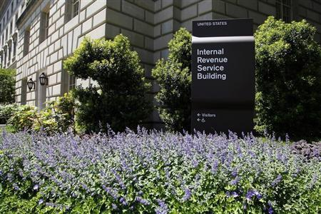 A general view of the Internal Revenue Service Building in Washington