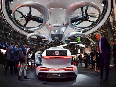 Liberty Flying Car. Relaxnews