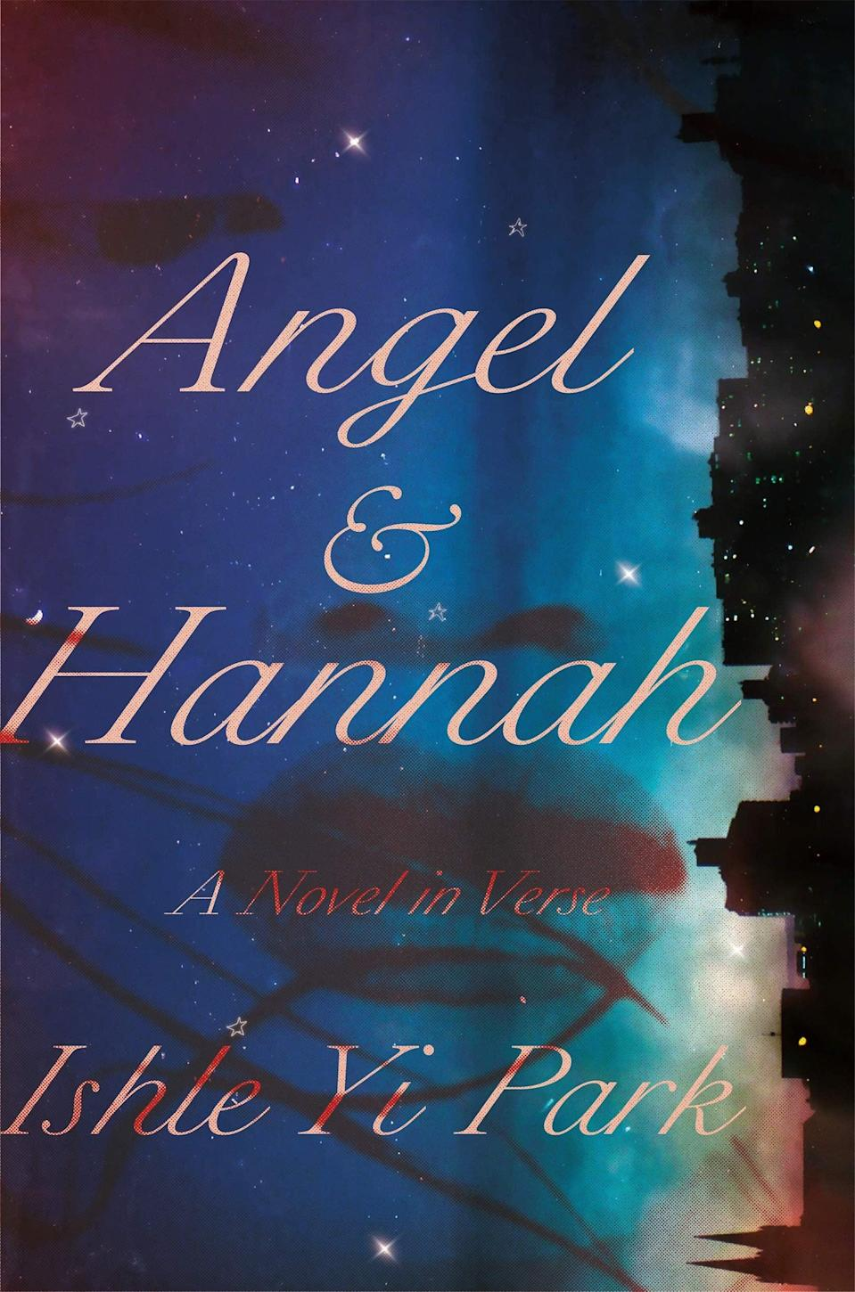 <p><span><strong>Angel &amp; Hannah</strong></span> by Ishle Yi Park is a stirring novel told in verse about an interracial couple in '90s New York City. In the spring of 1993, Hannah, a Korean American girl from Queens, and Angel, a Puerto Rican boy from Brooklyn, fall madly in love. And even though their two families don't understand their relationship, the duo will stop at nothing to protect their burgeoning relationship.</p> <p><em>Out May 11</em></p>