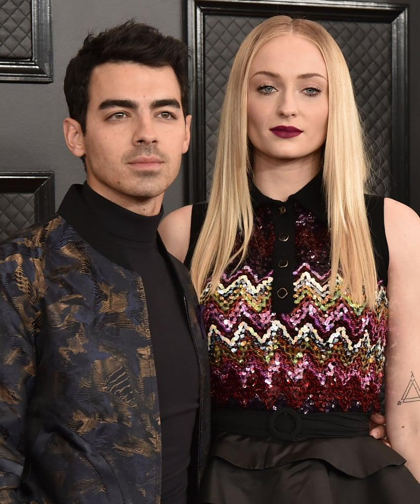 LOS ANGELES, CA – JANUARY 26: Joe Jonas and Sophie Turner attend the 62nd Annual Grammy Awards at Staples Center on January 26, 2020 in Los Angeles, CA. (Photo by David Crotty/Patrick McMullan via Getty Images)