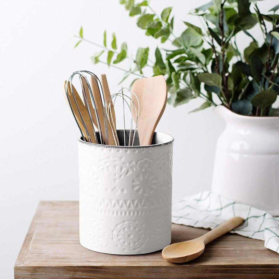 <p><span>LIFVER Kitchen Utensil Holder</span> ($20, originally $25)</p>