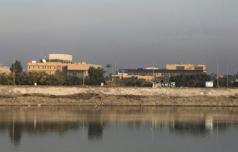 Rockets were fired at the US embassy in Iraq's capital Baghdad on Thursday - the embassy itself was not hit