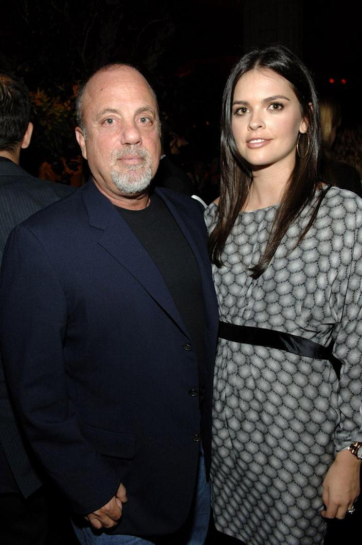 "<p>Singer Billy Joel has been married <a href=""https://www.washingtonpost.com/news/morning-mix/wp/2015/07/06/billy-joels-many-songs-about-his-many-wives/"" rel=""nofollow noopener"" target=""_blank"" data-ylk=""slk:four times"" class=""link rapid-noclick-resp"">four times</a>. He was previously married to Elizabeth Weber (1973 to 1982), model and actress <a href=""https://www.womenshealthmag.com/fitness/a32070471/christie-brinkley-home-workout-total-gym-backyard/"" rel=""nofollow noopener"" target=""_blank"" data-ylk=""slk:Christie Brinkley"" class=""link rapid-noclick-resp"">Christie Brinkley</a> (1985 to 1994) and Food Network star and chef <a href=""https://www.womenshealthmag.com/life/a32345019/chef-katie-lee-morning-noon-night-routine-video/"" rel=""nofollow noopener"" target=""_blank"" data-ylk=""slk:Katie Lee"" class=""link rapid-noclick-resp"">Katie Lee</a> (2004 to 2010). He married his current wife Alexis Roderick, a former Morgan Stanley executive, in 2015.</p>"