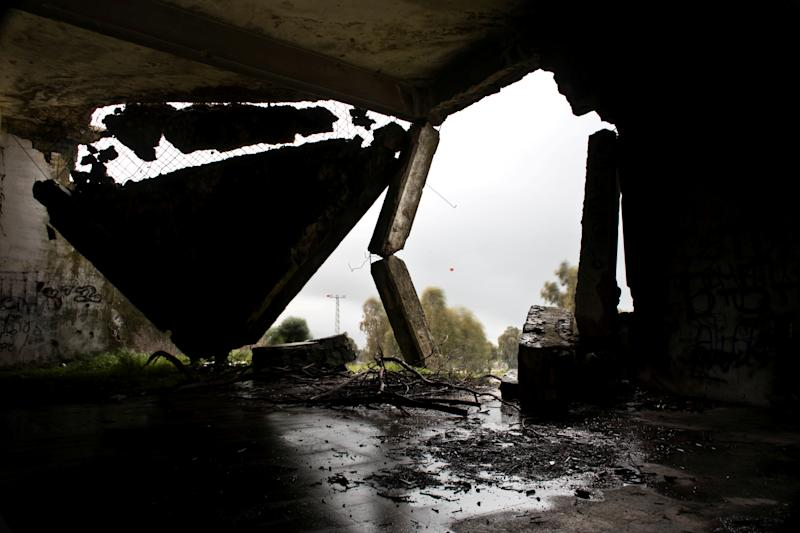 An abandoned mosque is seen on a rainy morning in the Golan Heights, in territory that Israel captured from Syria and occupied in the 1967 Middle East war, February 27, 2019. Until 1967 a Syrian village inhabited by Circassians stood near the site, which now lies just 5km on the Israeli side of the United Nations-monitored 'Area of Separation' that divides Israeli and Syrian military forces under a 1974 ceasefire arrangement. (Photo: Ronen Zvulun/Reuters)