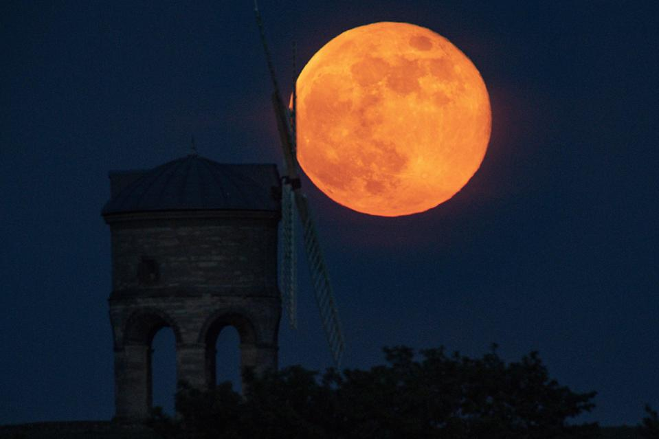 The full moon (PA Archive)