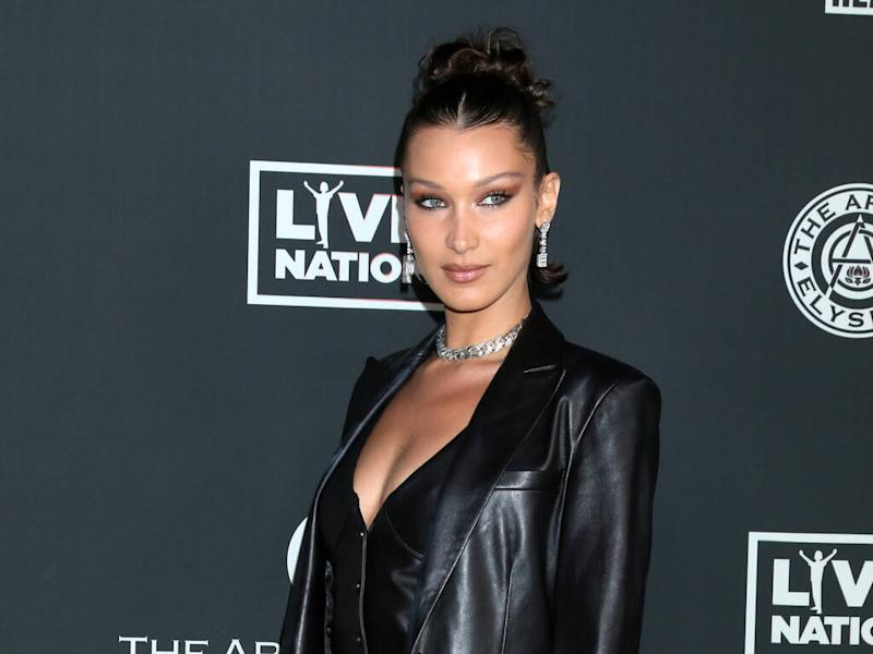 Bella Hadid auctioning off homemade clothes for charity