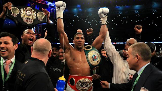 Anthony Joshua is the type of fighter who makes boxing big, according to legendary heavyweight Mike Tyson.