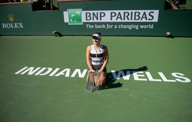 'I want this so bad,' and now Bianca Andreescu plunges head first into stardom