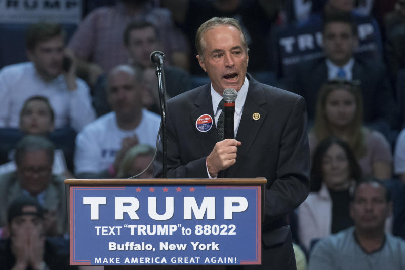 Charges Against New York Rep. Chris Collins Complicate Re-Election Bid