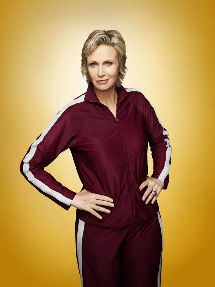 "Jane Lynch as Sue in ""Glee."""