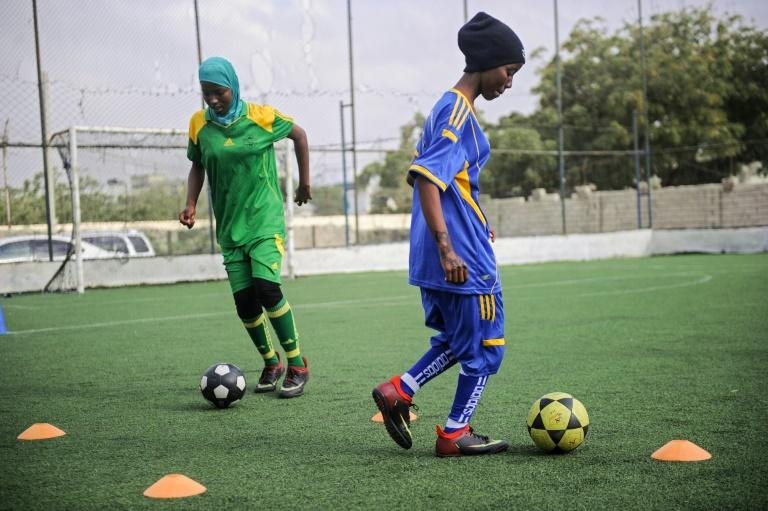 Co-founder Mohamed Abukar Ali says they are aiming to make the players at the Golden Girls Centre the first Somali female football professionals