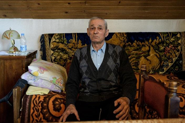 'I would rather it had been me gone and one of these kids had survived,' says 81-year-old Stojanca Petkovic, the survivor of one bombing that killed nine civilians (AFP Photo/Andrej ISAKOVIC)
