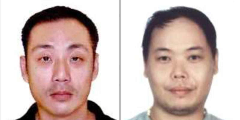 Choo Yong Sheng (left) and Yap Junlian Eddie both participated in arranging a marriage of convenience between a Singaporean man and a Chinese national. (PHOTOS: ICA)