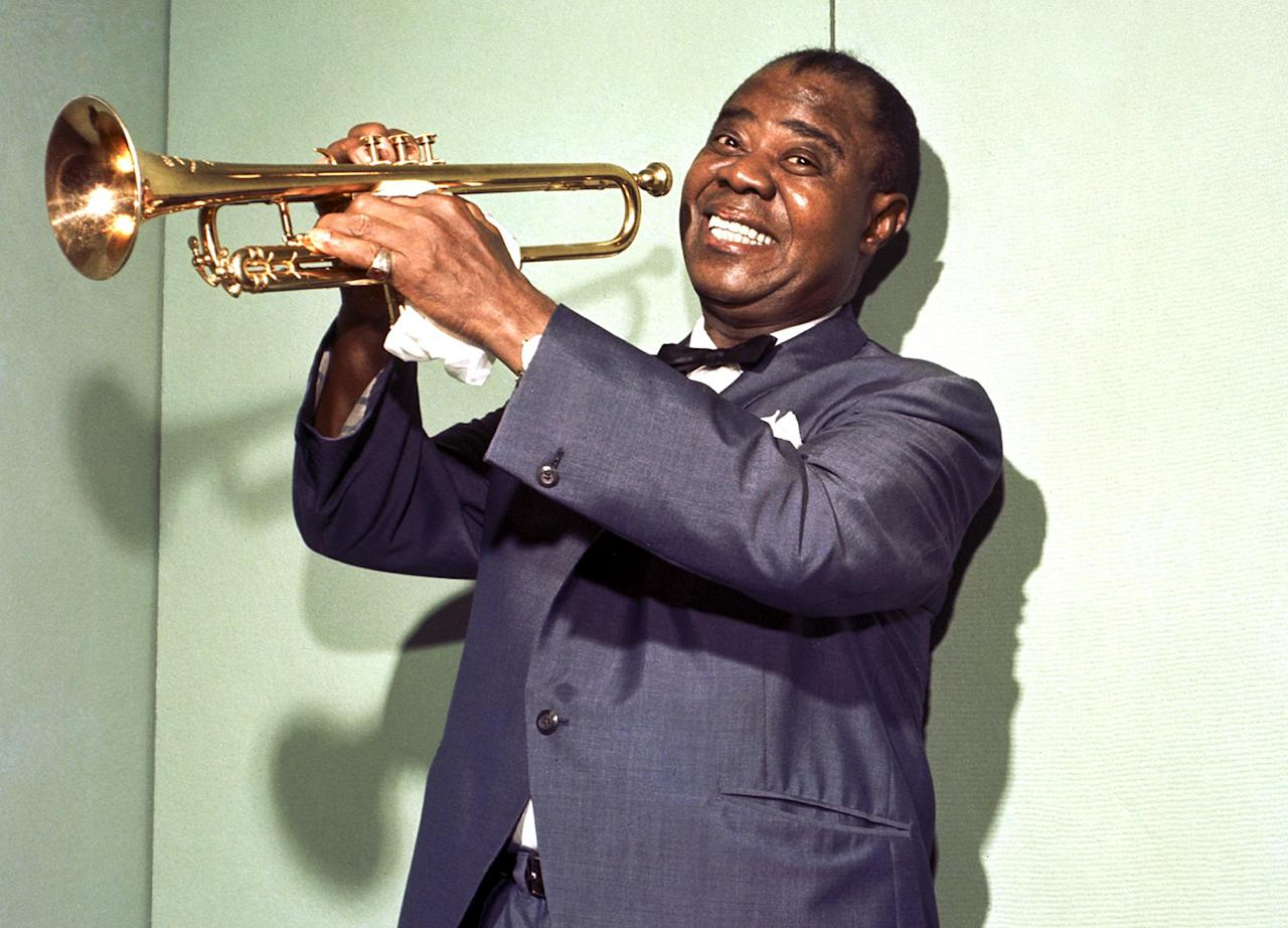 "Louis Armstrong: ""Satchmo"" Perhaps the most enduring of all inscrutable musician nicknames, this was short for ""Satchelmouth,"" which really was a mouthful. It was given to him by the editor of Melody Maker all the way back in 1932, referring to his puffy look when he was blowing his horn."