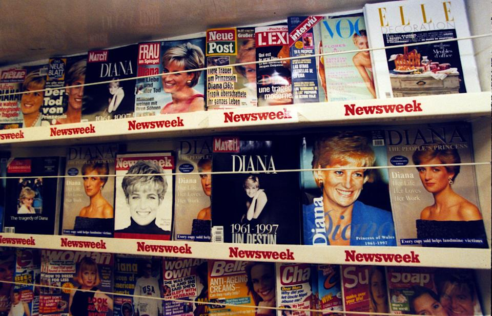 The media were initially blamed for Diana's death [Photo: PA]