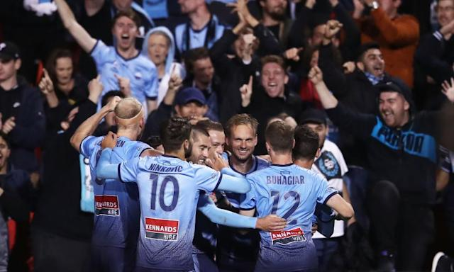 """<span class=""""element-image__caption"""">One of Sydney FC's new signings, Siem de Jong, is expected to become an A-League force. </span> <span class=""""element-image__credit"""">Photograph: Matt King/Getty Images</span>"""