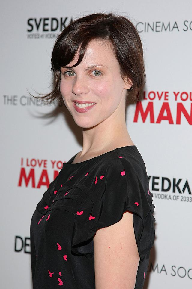 "<a href=""http://movies.yahoo.com/movie/contributor/1808991779"">Sarah Burns</a> at the New York Cinema Society screening of <a href=""http://movies.yahoo.com/movie/1810022085/info"">I Love You, Man</a> - 03/06/2009"