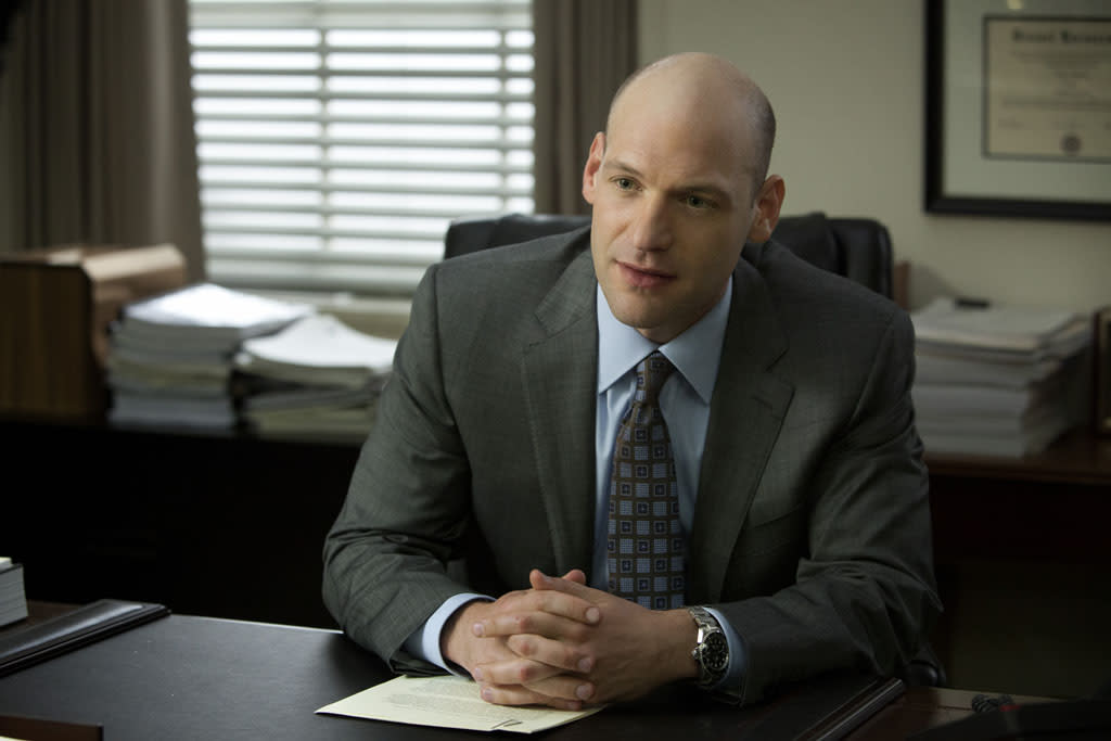 "Corey Stoll in the ""House of Cards"" Season 1 episode, ""Chapter 1."""